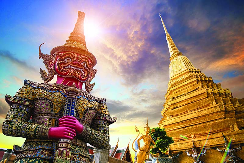 Top Eight Tourist Destinations in Bangkok, Thailand