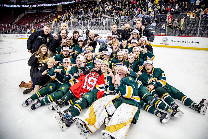 The Morris Knolls Golden Eagles Win Third State Championship