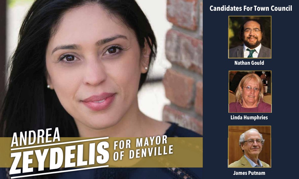 Andrea Zeydelis for Mayor of Denville