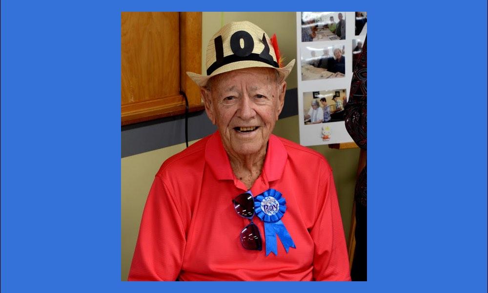 Bob Beaven Turns 102