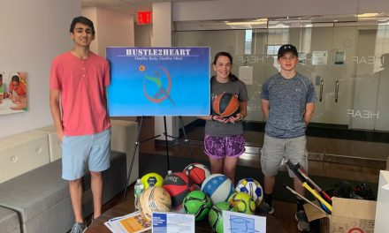 Kunal Kumar and Allen Pikus partnered with the Harlem Educational Activities Fund (HEAF) Summer Quest Program Field Day