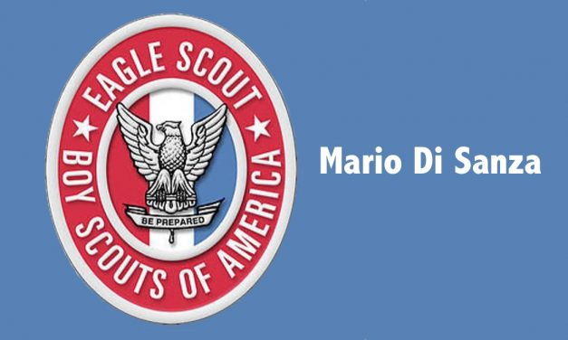 Mario Di Sanza Becomes an Eagle Scout